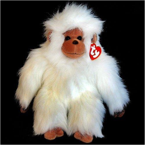 Ty Classic Plush - Tango The Monkey (White Version) (11 inch)- MWMTs Stuffed Toy