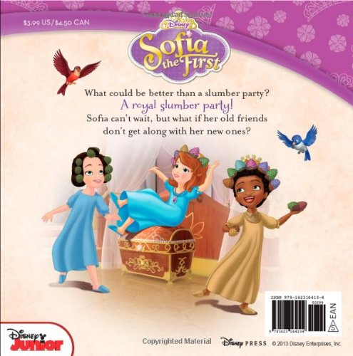 Sofia the First The Royal Slumber Party: Disney Book Group ...