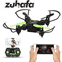 Zuhafa Z2HC Mini Foldable RC Drone FPV VR Wifi RC Quadcopter Remote Control Drone with HD 720P Camera RC Helicopter black