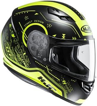 Casco moto HJC CS 15 DOSTA MC4HSF Nero//Giallo S