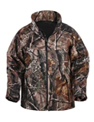 Lucky Bums Kid's Soft Shell Jacket, (X-Large, Camo Realtree APHD)