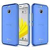 HTC Bolt Case, HTC 10 EVO Case,TownShop Blue Soft TPU Skin Cover For HTC Bolt / HTC 10 EVO