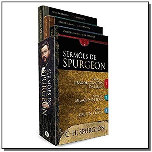 Box - Sermões de Spurgeon: 3 livros do príncipe dos pregadores