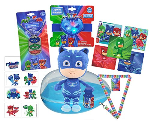 "Pj Masks Boy's ""Cat Boy"" Inspired 19pc Pre Filled Jumbo East"