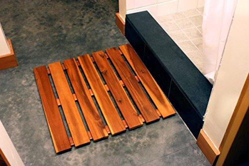Villa Acacia Premium Wooden Shower