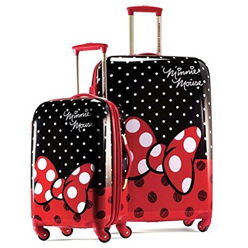 American Tourister Disney Minnie Mouse Red Bow 2 Piece Set 21 &...