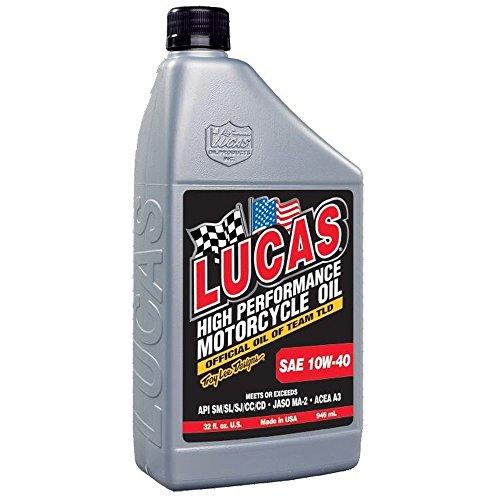 Lucas Oil 10767 Aceite para Motocicleta SAE 10W-40
