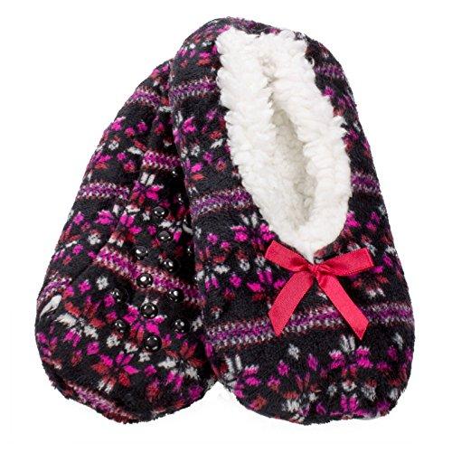 Jacques Moret The Original Fuzzy Babba Slipper Socks Christmas QaevaK