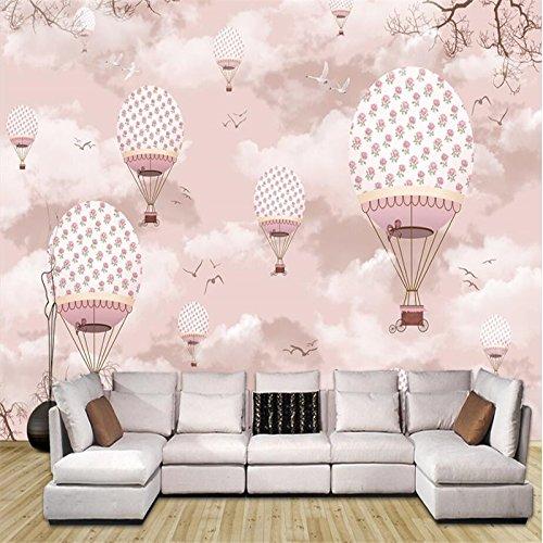 Mznm Custom 3D Wallpaper Cartoon Hot Air Balloon Wall Paper Sofa Living Room Tv Backdrop Decorative Painting by Mznm