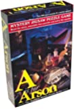 TDC Games 7101 A is for Arson Murder Mystery Jigsaw Puzzle