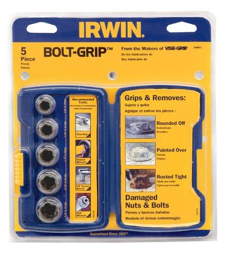 Irwin  Bolt Grip Remover 5PC Base set  394001