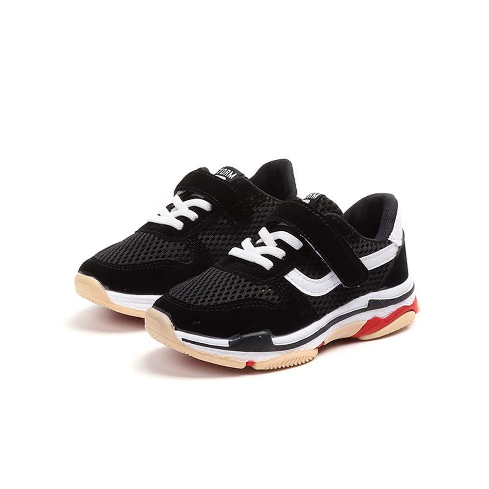 ❤ Chaussures Enfants,LHWY Baskets Respirantes Couleur Maille pour Enfants Sneakers de Toile d/écontract/ées Baskets Respirantes Chaussures d/écontract/ées pour Enfants 4-10 Ans
