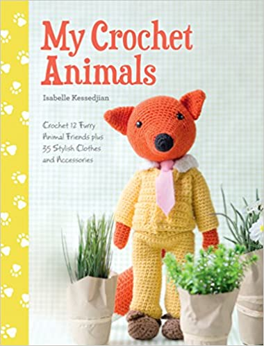 My Crochet Animals: 12 Crochet Animal Patterns with 35 Cute Crochet ...