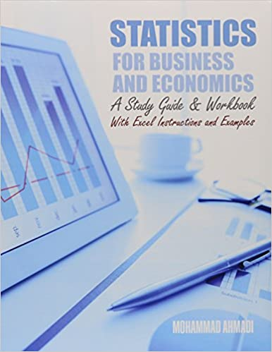 Statistics For Business And Economics A Study Guide And Workbook