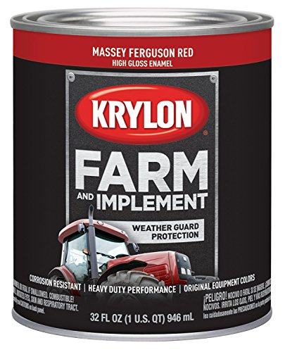 (Krylon 2026 Krylon Farm & Implement Paints Massey Ferguson Red 32 oz. Quart Krylon Farm & Implement Paints)