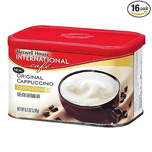 Maxwell House International Cappuccino Original Cappuccino 8.3oz. (16 pack)