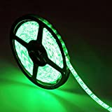 TOP YAO 16.4ft 5m SMD 5050 Waterproof 300leds Green LED Flash Strip Light ...