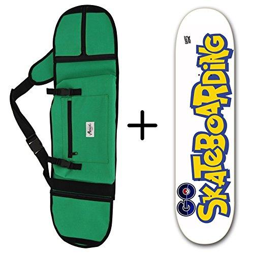 Funda de Monopatin para Tablas de Skate y Skateboard de 8.25 de Pokémon Go. Es un Pack. Lija GRATIS. skate-home
