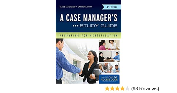 a case manager's study guide: preparing for certification ...