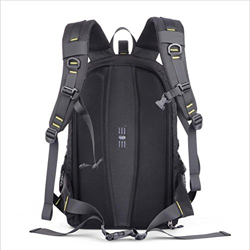 Daypack Laptop SLR backpack lightweight pack functional Black ultra Rucksack Camera waterproof Multi camera fXTPw