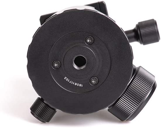SUNWAYFOTO FB-52 GNN No Neck 52mm Tripod Ball Head Arca//RRS Compatible 44lb Max Load Sunway Ideal for Target Shooting