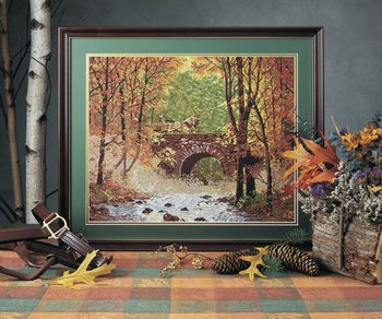 - Autumn Bridge - Needlepoint Kit