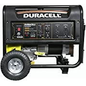 Duracell DG65M-R62 Gasoline Powered Generator with Kohler Recoiled Start Engine, 6000W