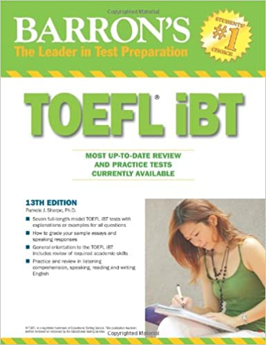 Barron Book For Toefl