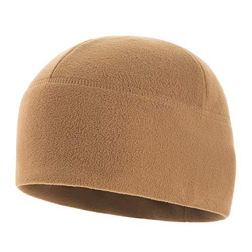 (M-Tac Watch Cap Fleece 340 Elite Winter Tactical Hat (Coyote Brown, XL))
