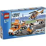 LEGO - 7686 - Jeu de construction - City - Traffic - Le transport de l'hélicoptère