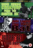3 Classic Horrors Of The Silver Screen - Vol. 5 - Creature From The Haunted Sea / The Devil Bat / Vampire Bat [DVD]