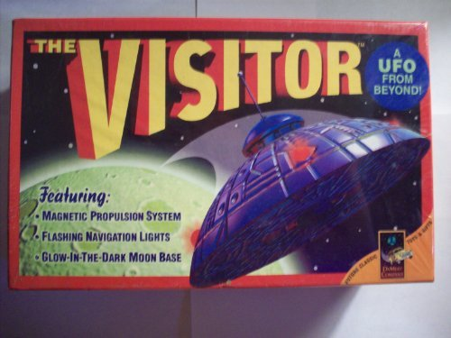 (The Visitor a UFO From Beyond! Featuring: Magnetic Propulsion System, Flashing Navigation Lights, Glow-In-The-Dark Moon Base. (Future Classic Toys & Gifts))