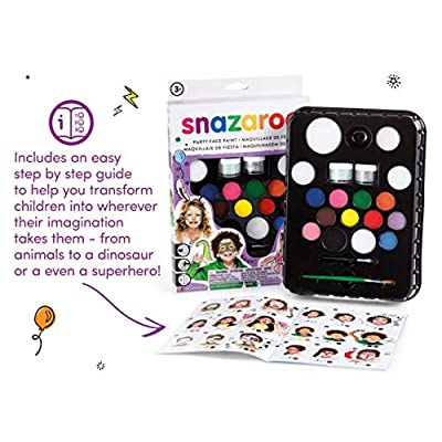 Snazaroo Face Paint Kit Ultimate Party Pack, Multicolor