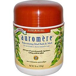 Auromere Ayurvedic Herbomineral Mud Bath, 16 Ounce