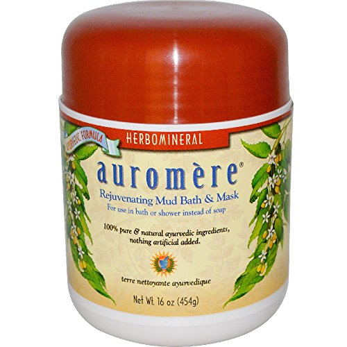 Auromere Ayurvedic Herbomineral Mud Bath, 16 Ounce by Auromere