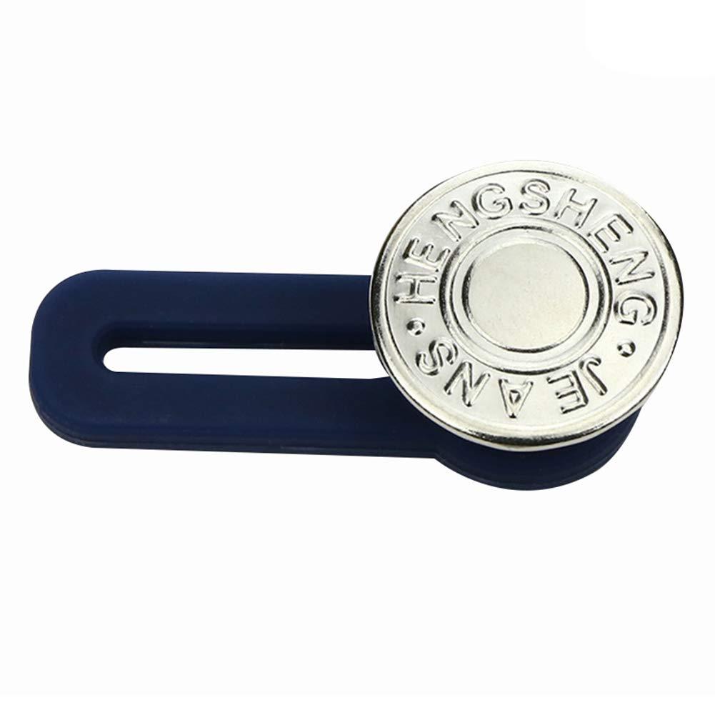 Magicxo 10pcs Jeans Retractable Button Adjustable Detachable Extended Button for Clothing Jeans 10