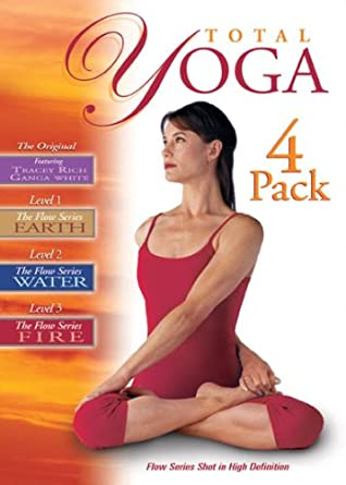 Amazon.com: Total Yoga 4 Pack: Ganga White, Tracey Rich ...