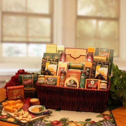 Corporate Gift Baskets Associates Classic Selection Deluxe Meats & Cheese by GiftBasketsAssociates