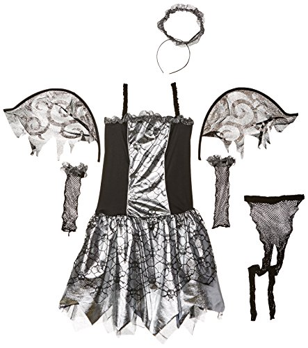AMSCAN Fallen Angel Costume for Girls, Large, with Included Accessories -