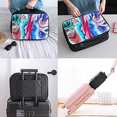 1d98b5d57bf1 Amazon.com: Meirdre Travel Duffel Bag Dragon Ball Goku Vegeta ...