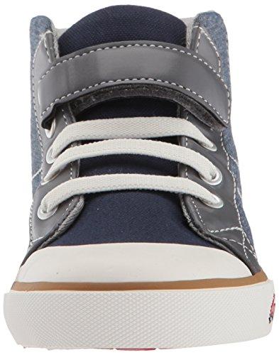 Pictures of See Kai Run Boys' Dane Sneaker, Chambray Multi, 7 M US Toddler 6