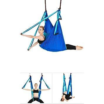 QNMM Flying Yoga Hamaca Set Sling para Antigravidad Yoga ...