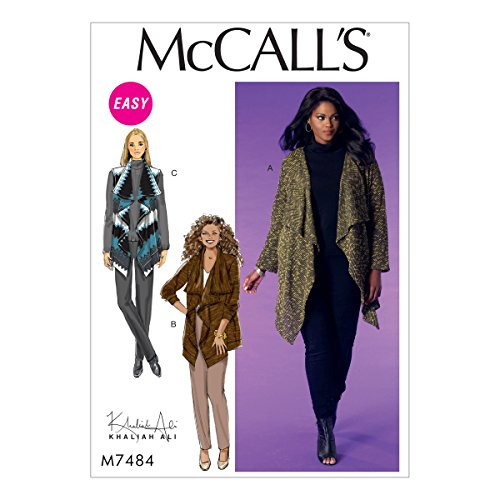 - McCall's Patterns M7484B50 Misses Women's Draped Cardigans and Vest