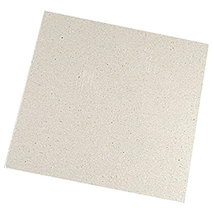 Placa de mica - TOOGOO(R)2x Salida de microondas Microondas 11 x 12cm Reemplazo Placa de mica