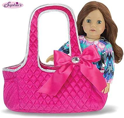 Doll Bag Storage Children Portable Cloth Handbag for 18inch Doll Accessories