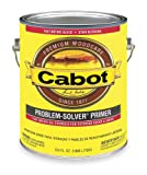 Cabot - 140.0008511.007 - Exterior Primer with 400 to 500 Smooth Surface, 150 to 250 Rough Surface sq. ft. Coverage, Flat Whit (pkg of 4)