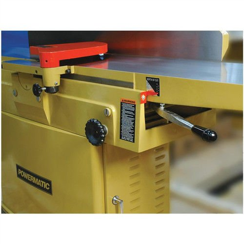 Powermatic 1791241 Model 1285 3 HP 1-Phase 12-Inch Jointer with Straight Knife Cutterhead