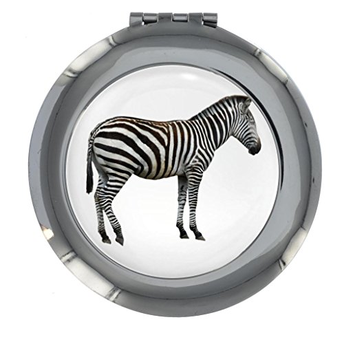 Zebra Image Design Handbag Mirror