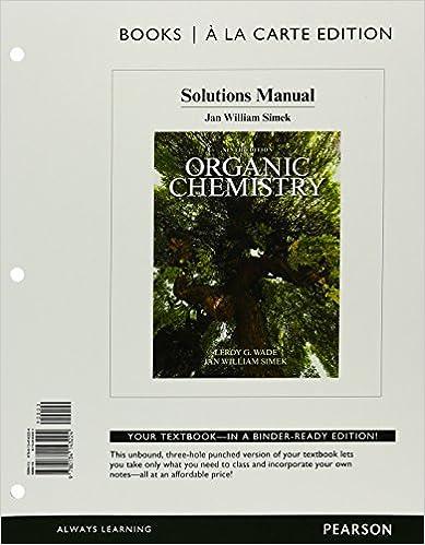 Amazon organic chemistry solutions manual books a la carte organic chemistry solutions manual books a la carte edition 9th edition fandeluxe Images