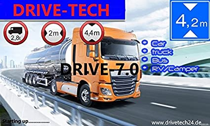 "BUS INKL TMC  Navigation 7/"" GPS  Navi Navigationsgeräte für LKW,PKW,WOHNMOBIL"